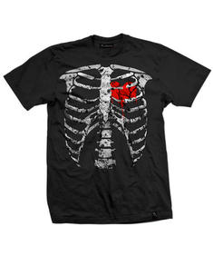 Darkside - Ribs Black T-shirt