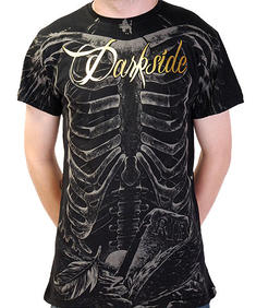 Darkside - Ribs Metallic Foil Black T-shirt