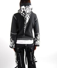 Mercy-White/Black Hoodie
