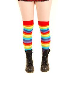 Knästrumpor-Rainbow Madness
