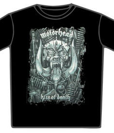 Motörhead-T-Shirt-Kiss Of Death