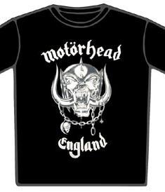 Motörhead-T-Shirt-England