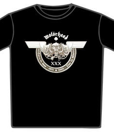 Motörhead-T-Shirt-30th Anniversary
