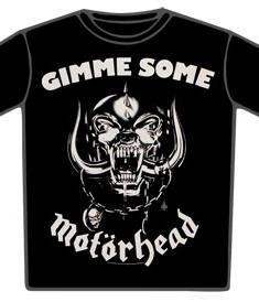 Motorhead-T-Shirt-Gimme Some
