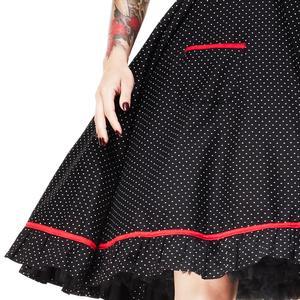 Hell Bunny Vanity Polka Dot 50s Dress Rockabilly Pin Up Swing Retro Cool Halter