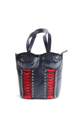 Väska-Corset Bag Red-LDS