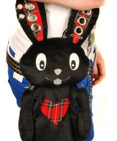 Svart kanin - väska