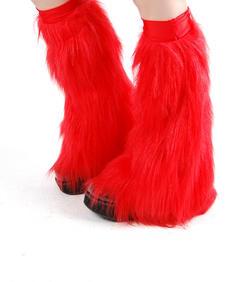 LegWarmer-Flamming Red