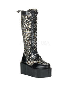 Creeper High Boot Leopard