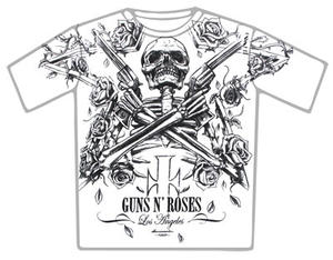 Guns N Roses-Crossed Whitey T-shirt