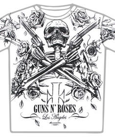 Guns N Roses-Crossed Whitey T-shirt