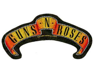 Guns N Roses-scroll cut out Patch