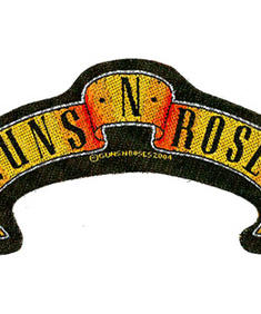 Guns N Roses-scroll cut out Patch