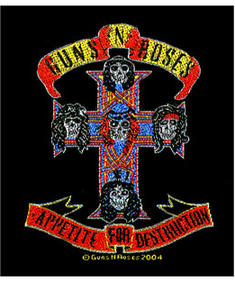Guns N Roses-Apetite For Destruction Patch