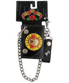 Guns N Roses-Guns Logo Chain Wallet