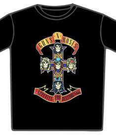 Guns N Roses-Apetite For Destruction T-Shirt
