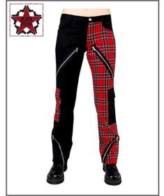 Freak Pants - Red Tartan