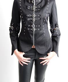 Girl Jacket-Gail Blk-HB