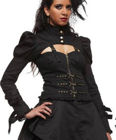 Hell Bunny-STEAMPUNK JACKET