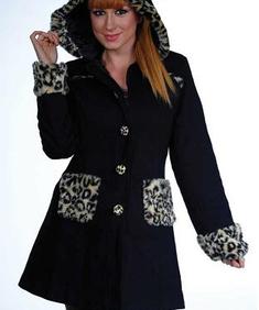 Living Dead Souls-leopard jacket