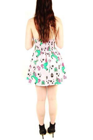 Hell Bunny-Zombie Pony Dress