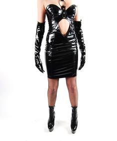 Pvc Klänning-Cruella PVC Dress