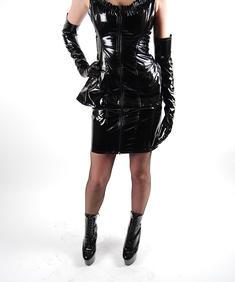 Pvc Klänning-Cruella PVC Dress-01