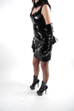Phaze-Cruella PVC Dress-01