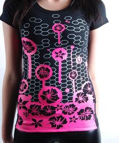 Cyberdog- T-shirt Blommor