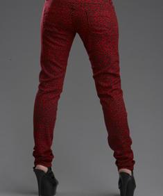 Girl Jeans-Mel Leo Red-HB