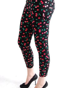 Living Dead Souls-Cherry Leggings