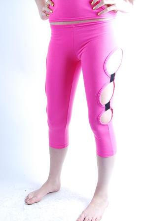 Cyberdog-Leggings Attechment-pink