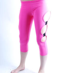 Cyberdog-Leggings Attechment-pink