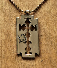 Alchemy - Razorblade 13 Necklace