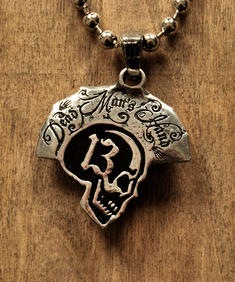 Alchemy - Dead man's hand Necklace