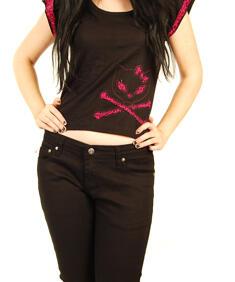Poizen-Bye Bye Kitty Pink Leopard Shirt