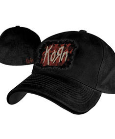 Korn - Fitted Cap With Fabric Window