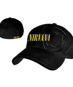 Nirvana - Black Fitted Cap