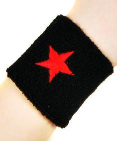 Röd stjärna, svettarmband