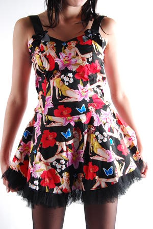 Hell bunny Klänning-Lolla Dress-HB